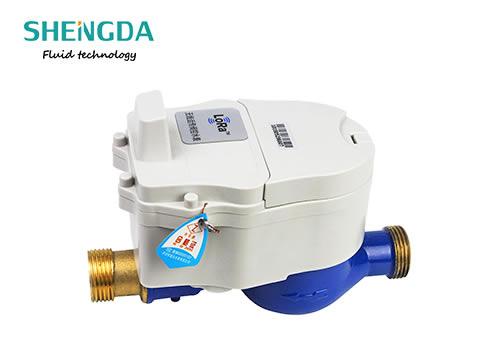 LoRa智能远传水表阀控小口径水